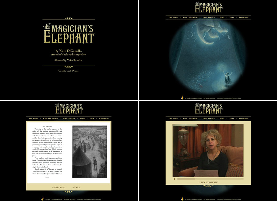 magicians elephant screen shot