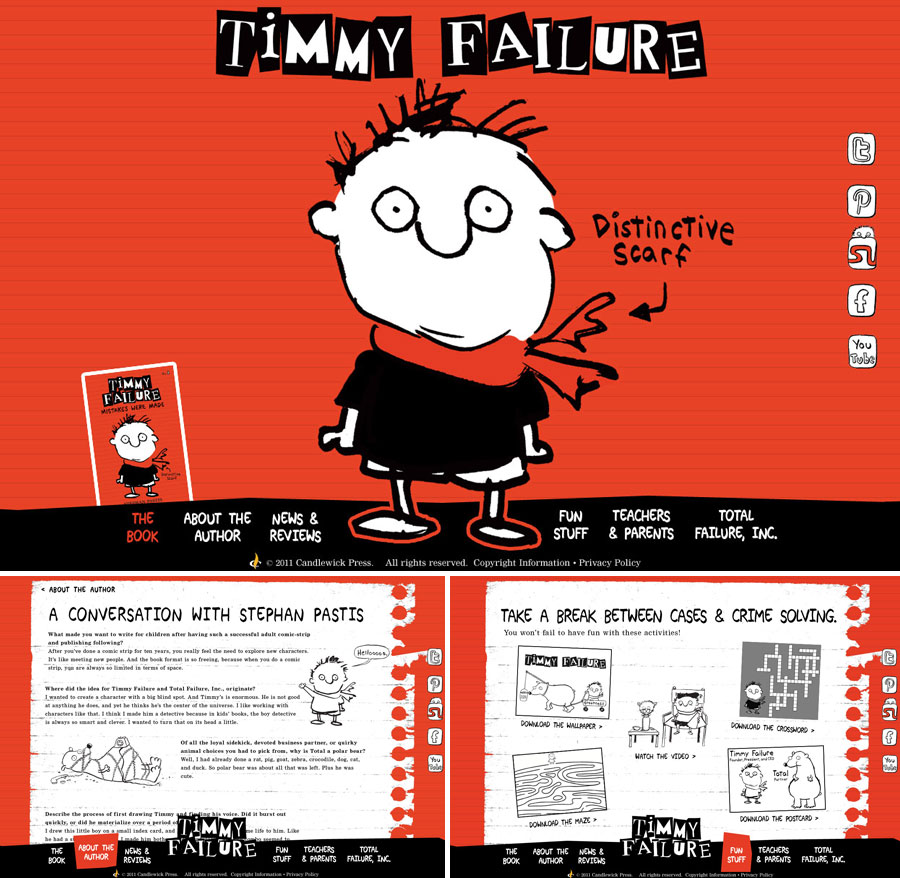 timmy failure screen shot